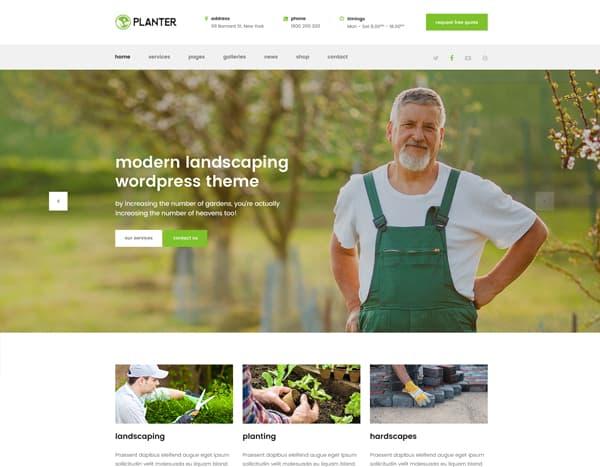 Planter Theme